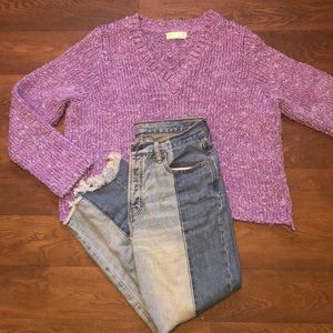 RELAiS OVERSIZED KNIT SWEATER